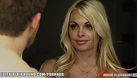 SEXY blonde Jesse Jane is seduced and fucked by her new neighbor