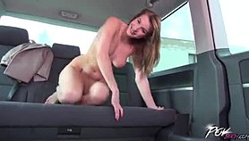 Beautiful Babe Rides a Shaft Blowing on her Ass