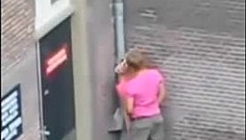 Extreme public sex in the street daytime voyeur video