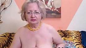 Passionate Amateur Grandmother Woman